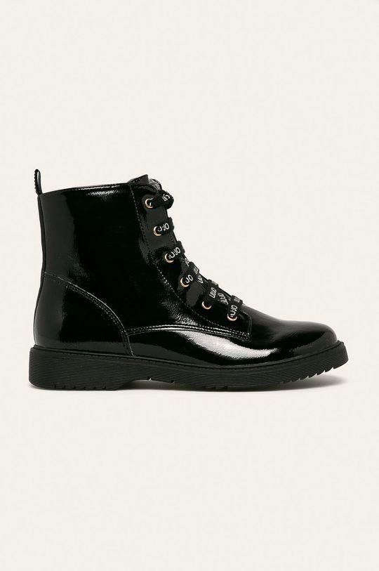 čierna Liu Jo - Členkové topánky Dievčenský