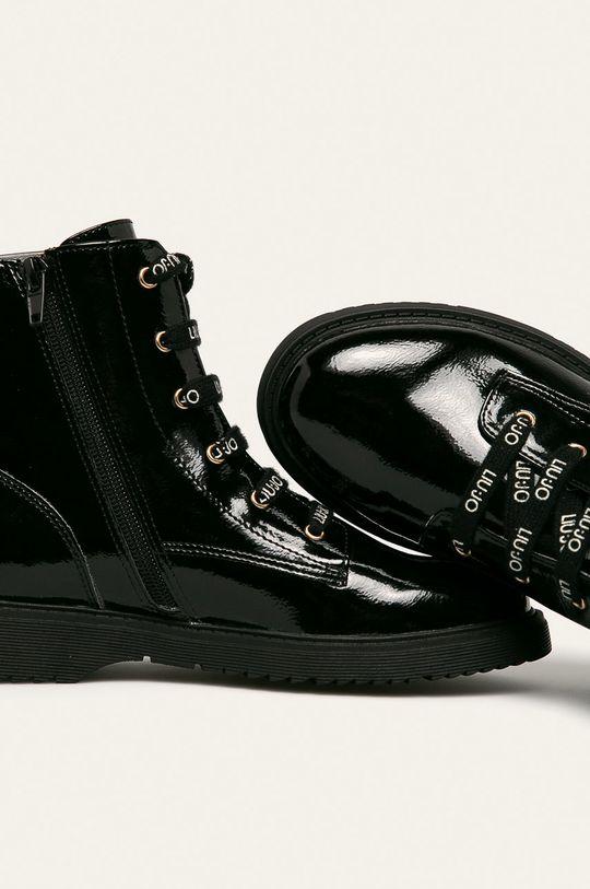 čierna Liu Jo - Členkové topánky