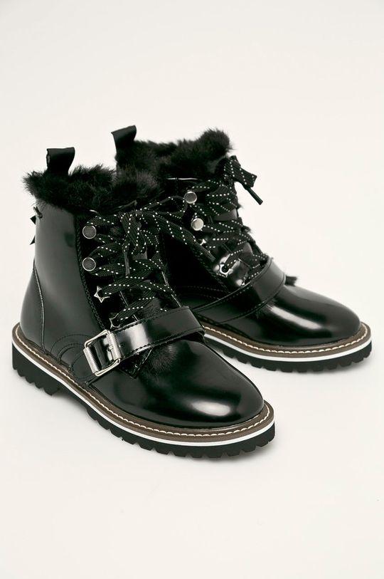 Pepe Jeans - Дитячі черевики  Leia Buckle чорний