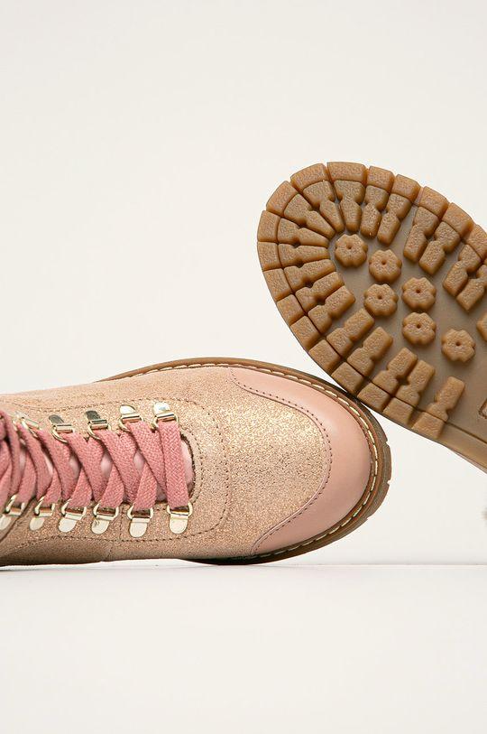 Pepe Jeans - Dětské boty Combat Mountain Svršek: Textilní materiál, Přírodní kůže Vnitřek: Textilní materiál, Přírodní kůže Podrážka: Umělá hmota
