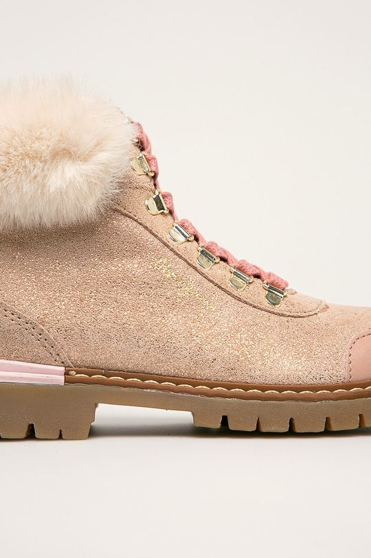 pastelově růžová Pepe Jeans - Dětské boty Combat Mountain