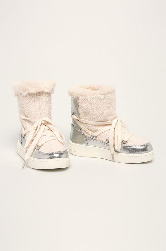 Pepe Jeans - Dětské sněhule Brixton Girl Metal bílá