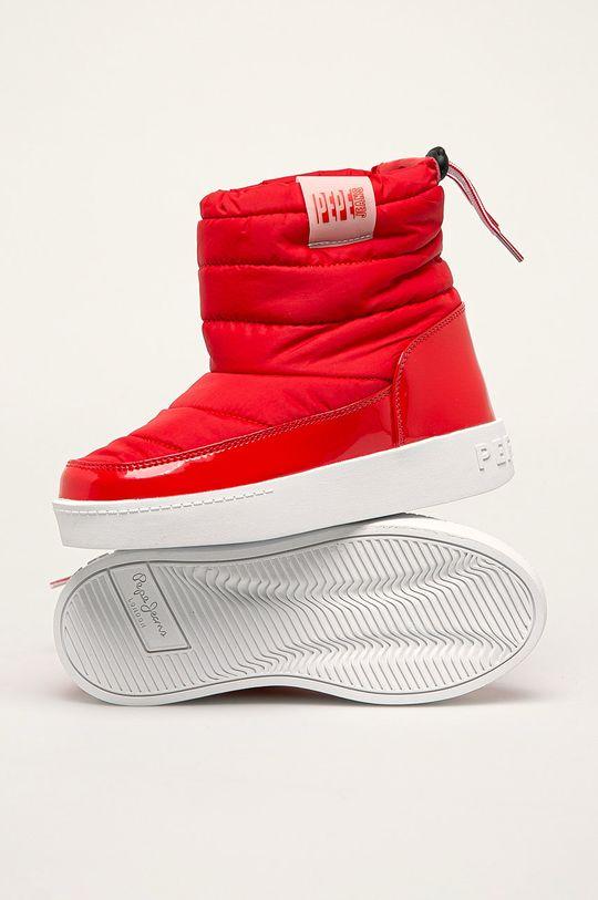 červená Pepe Jeans - Detské snehule Brixton Girl Nylon