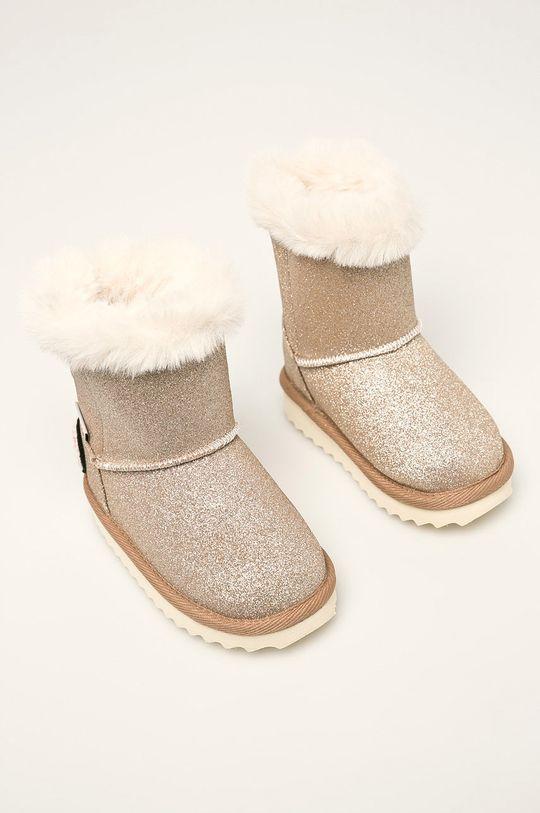Pepe Jeans - Detské snehule Angel Glitter Kids zlatá