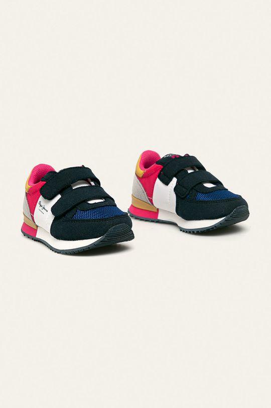 Pepe Jeans - Detské topánky Sydney Basic Girl tmavomodrá