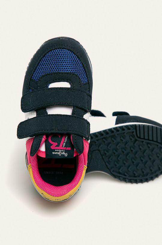tmavomodrá Pepe Jeans - Detské topánky Sydney Basic Girl