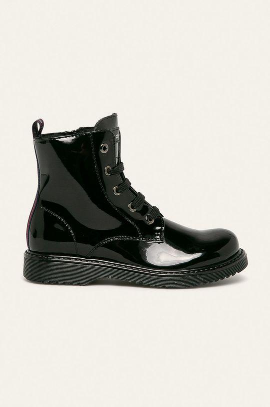 černá Tommy Hilfiger - Dětské boty Dívčí