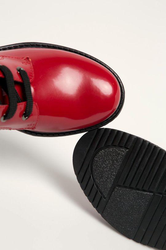 czerwony Tommy Hilfiger - Botki dziecięce