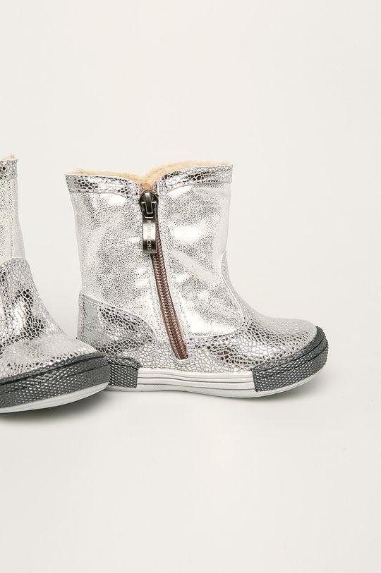 Bartek - Dětské boty stříbrná
