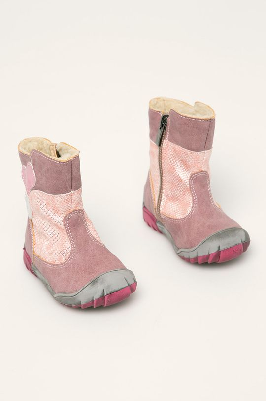 Kornecki - Dětské boty orchidejová