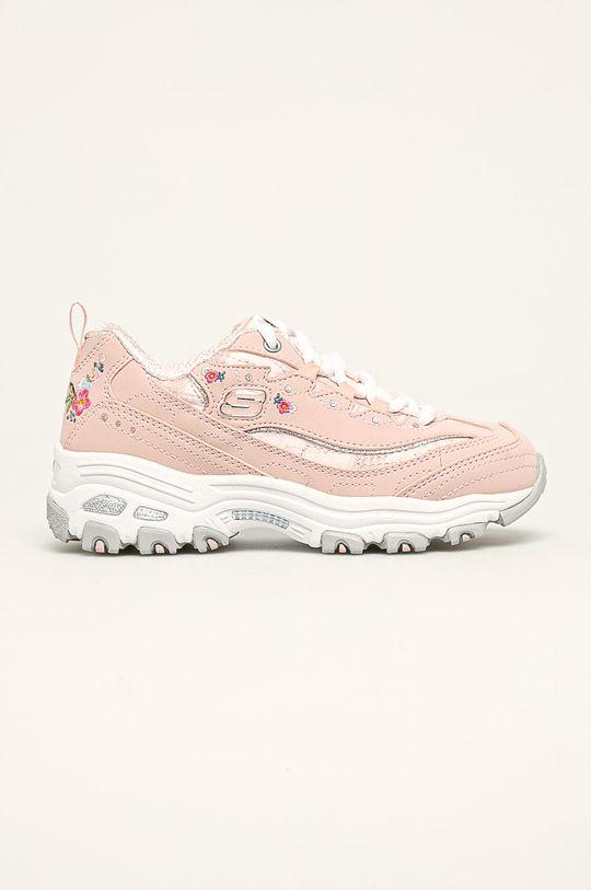 růžová Skechers - Dětské boty Dívčí