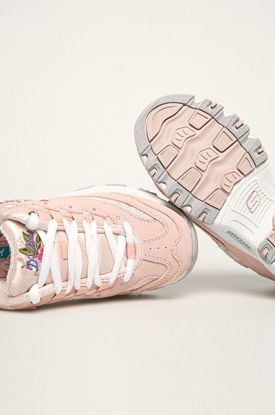 růžová Skechers - Dětské boty