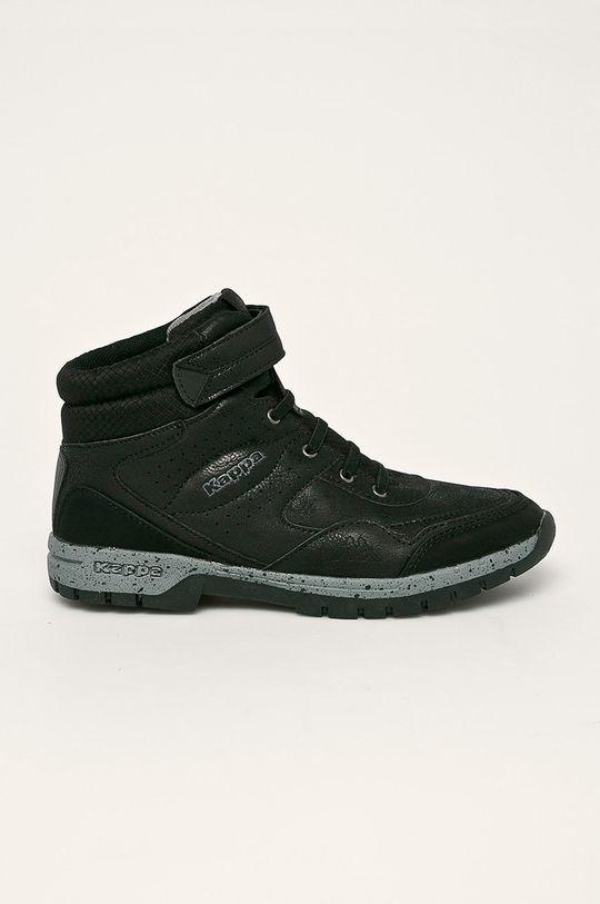 черен Kappa - Половинки обувки Lithium Дитячий