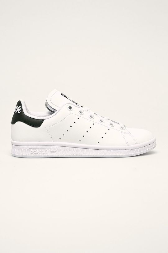 biela adidas Originals - Detské topánky Stan Smith J Detský