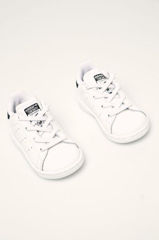 adidas Originals - Detské topánky Stan Smith El I biela