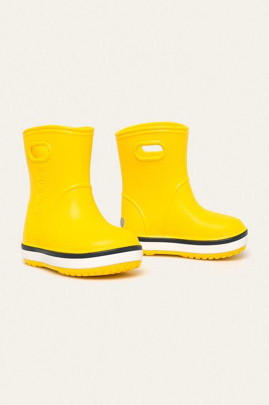 Crocs - Cizme copii galben