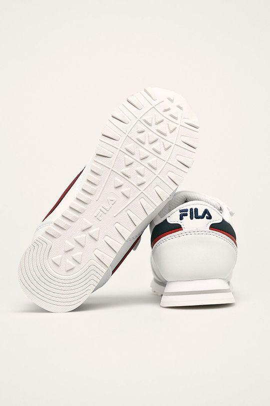 biela Fila - Detské topánky Orbit Velcro Low