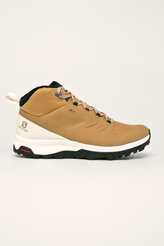 bej Salomon - Pantofi Bistre De bărbați