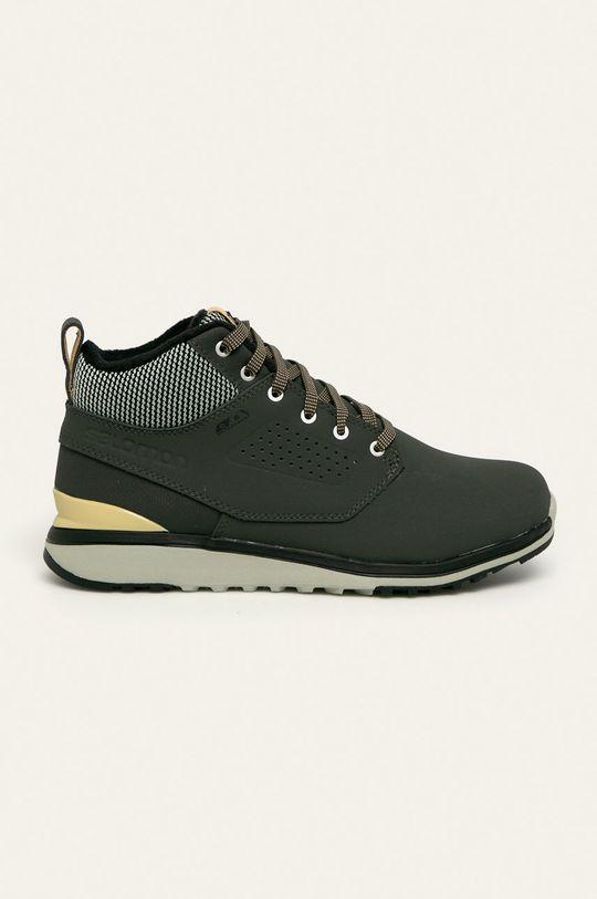 tlumená zelená Salomon - Kožené boty Utility Freeze Pánský