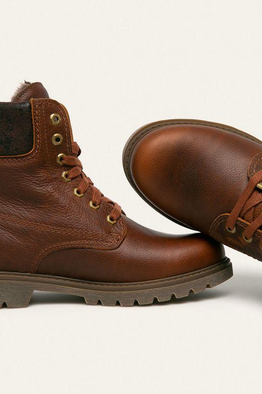 hnedá Panama Jack - Topánky