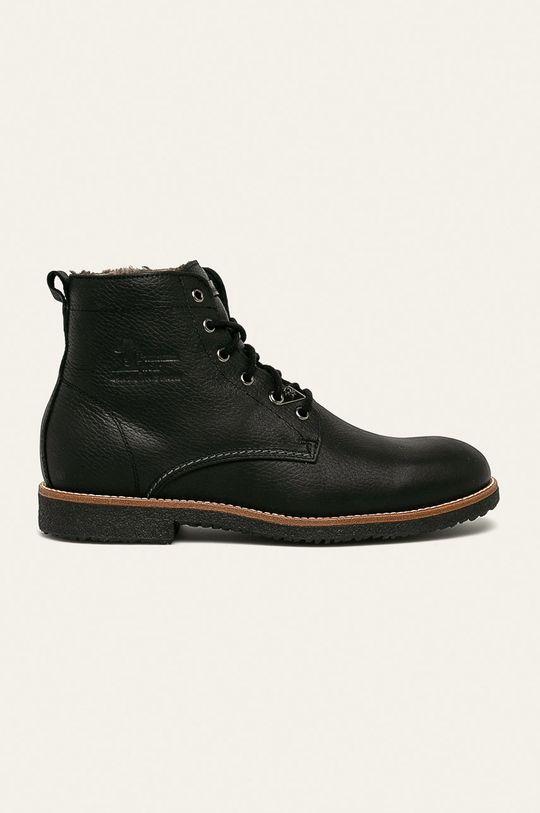 čierna Panama Jack - Topánky Pánsky