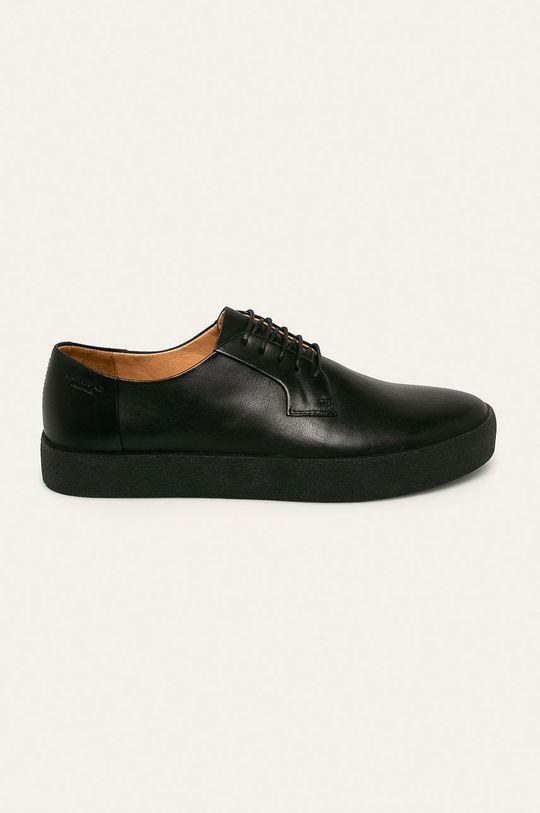 negru Vagabond - Pantof Luis De bărbați