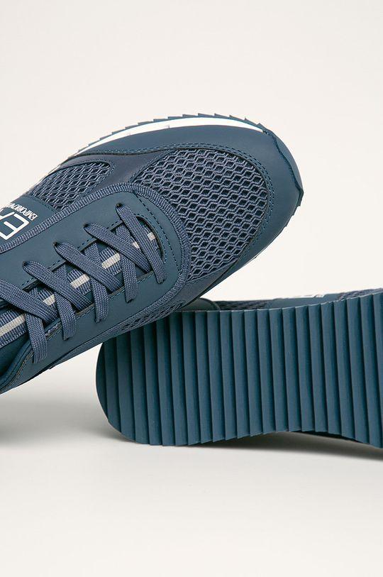 stalowy niebieski EA7 Emporio Armani - Buty