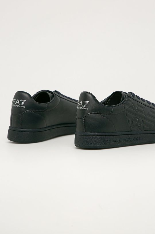EA7 Emporio Armani - Kožené boty  Svršek: potahová kůže Vnitřek: Umělá hmota, Textilní materiál Podrážka: Umělá hmota