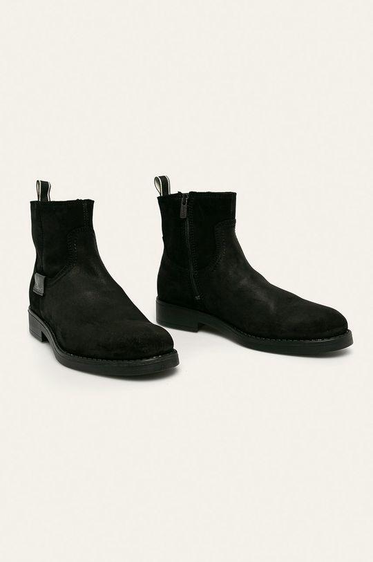 Gant - Обувки Oscar черен