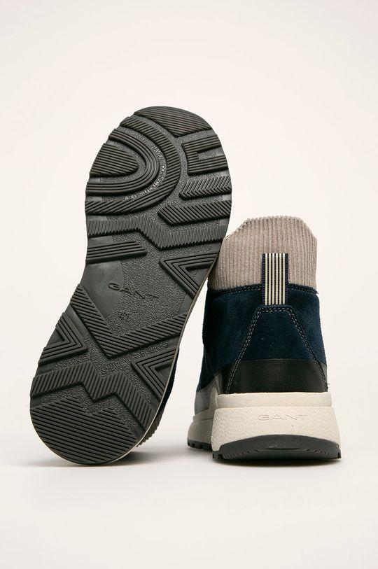 tmavomodrá Gant - Topánky Tomas