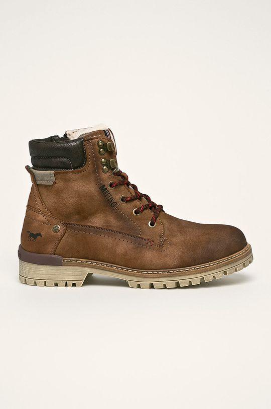 maro auriu Mustang - Pantofi De bărbați