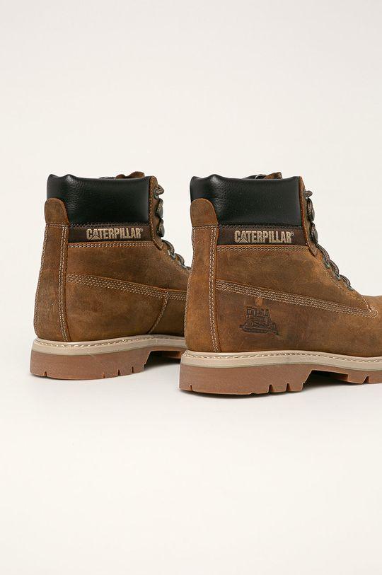 Caterpillar - Kožené boty Svršek: Přírodní kůže Vnitřek: Textilní materiál Podrážka: Umělá hmota