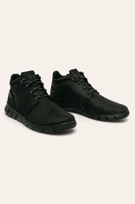 Caterpillar - Topánky čierna