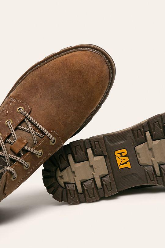 hnedá Caterpillar - Topánky