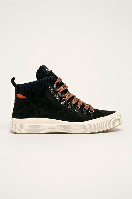 čierna Napapijri - Členkové topánky Pánsky