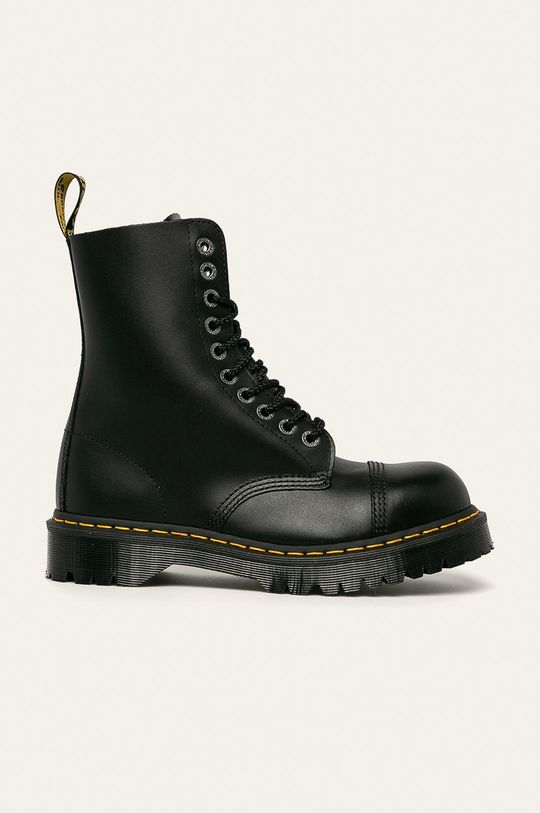 černá Dr Martens - Kožené boty Pánský