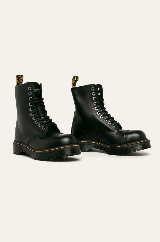 Dr Martens - Kožené boty černá