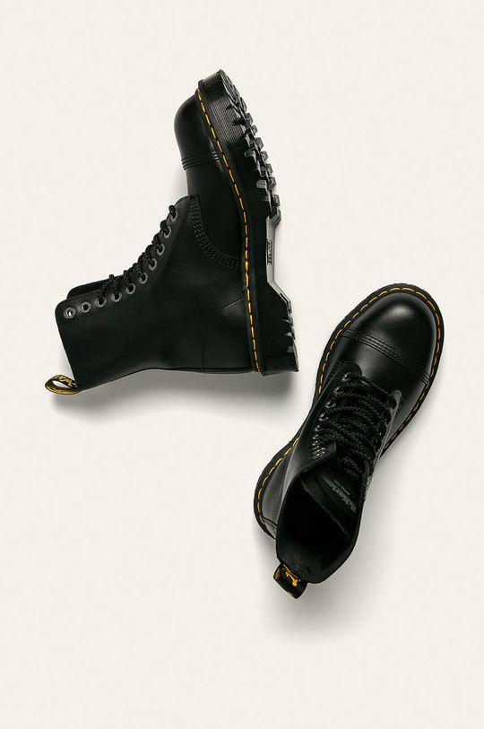 černá Dr Martens - Kožené boty