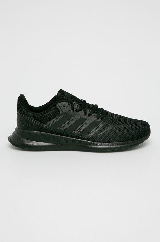 czarny adidas Performance - Buty Runfalcon Męski