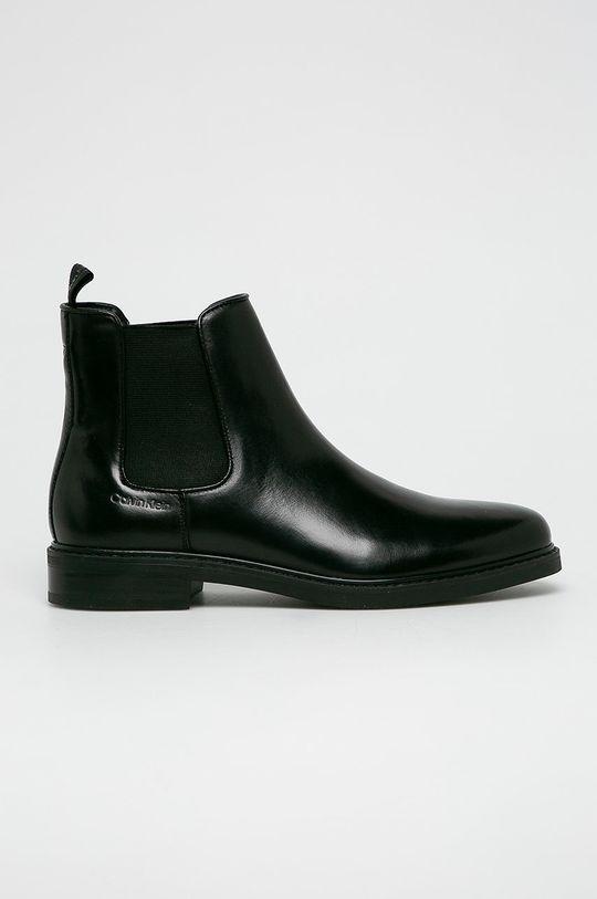 czarny Calvin Klein - Buty wysokie Męski