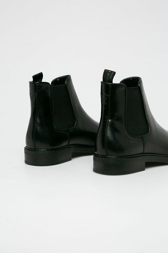 Calvin Klein - Buty wysokie Cholewka: Skóra naturalna, Wnętrze: Materiał syntetyczny, Skóra naturalna, Podeszwa: Materiał syntetyczny