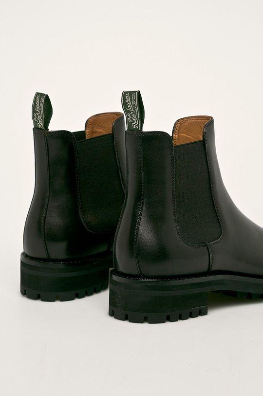 Polo Ralph Lauren - Kožené boty s gumou Svršek: Přírodní kůže Vnitřek: Přírodní kůže Podrážka: Umělá hmota