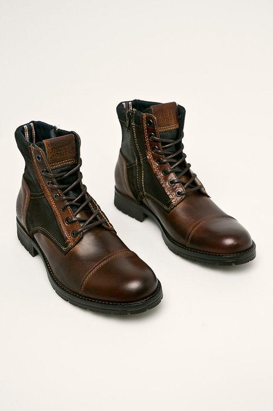 Jack & Jones - Topánky hnedá