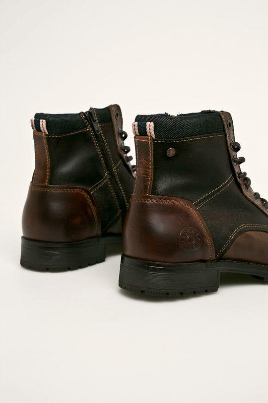 Jack & Jones - Topánky  Zvršok: Prírodná koža Vnútro: Textil Podrážka: Syntetická látka