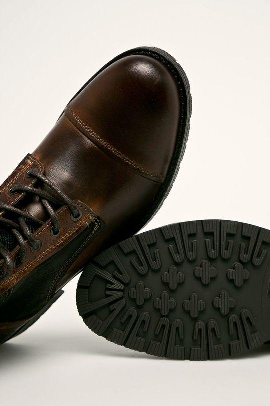 hnedá Jack & Jones - Topánky