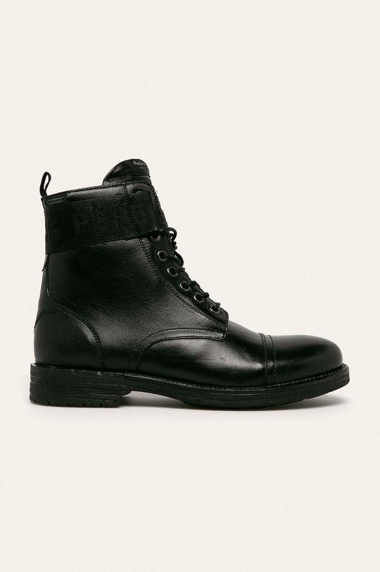 černá Pepe Jeans - Boty Tom Cut Boot Toto Pánský
