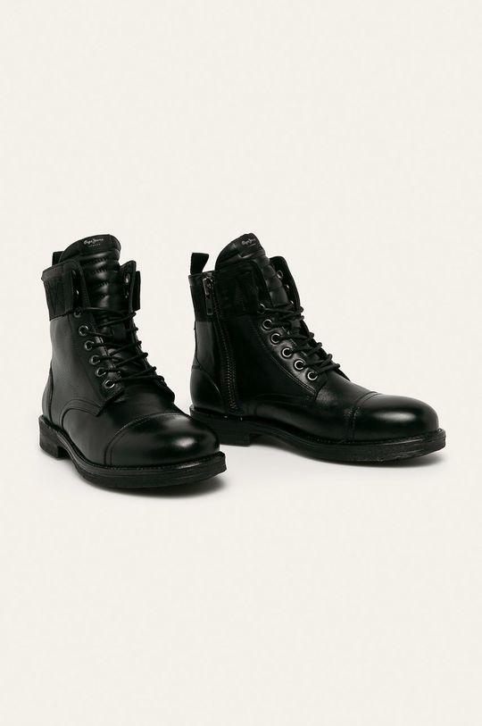 Pepe Jeans - Boty Tom Cut Boot Toto černá