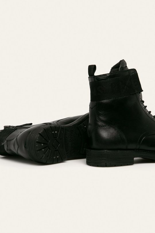 Pepe Jeans - Boty Tom Cut Boot Toto Svršek: Přírodní kůže Vnitřek: Textilní materiál, Přírodní kůže Podrážka: Umělá hmota