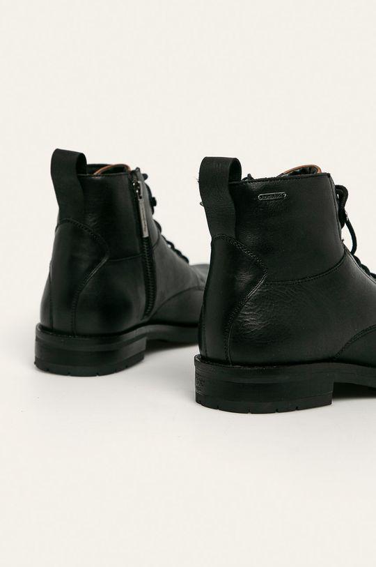 Pepe Jeans - Boty Gotam Boot Svršek: Přírodní kůže Vnitřek: Textilní materiál, Přírodní kůže Podrážka: Umělá hmota