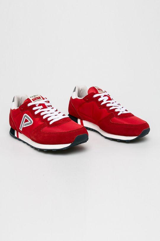 Pepe Jeans - Boty červená